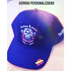 GORRA MOTEROS RUTEROS PERSONALIZADA